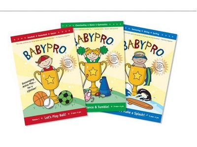 BabyPro DVDs for the Active Toddler