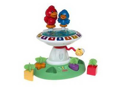 Fisher Price Birdbath toy