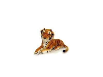 "Lying Tiger With Sound - 17"" $35.00"